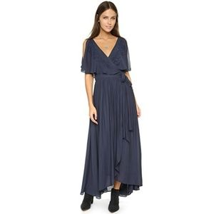 NWT Free People Fiona Maxi Wrap Dress